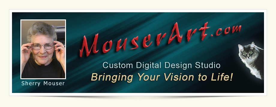 Shery Mouser's Custom Digital Design Studio