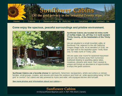 sunflower-cabins